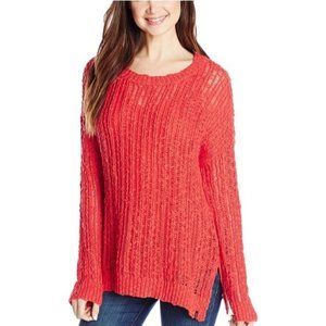 Volcom Open Knit Lightweight Tunic Sweater